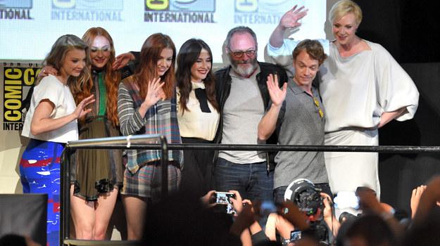 "Ekipa ""Gry o tron"" na Comic-Conie w San Diego /Kevin Winter /Getty Images"
