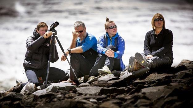 """Ekipa """"K2. Dotknąć nieba"""" przy pracy - fot. Dawid Kaszlikowski /HBO"""