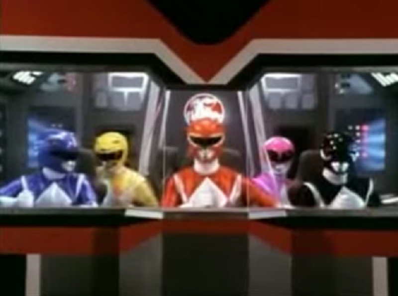 Ekipa Power Rangers /YouTube