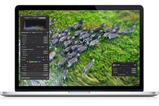 Ekran Retina obsługuje rozdzielczość 2880 na 1800 pikseli /materiały prasowe