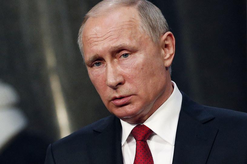 Ekspansywna polityka Rosji wciąż budzi obawy sporej grupy Polaków. Na zdjęciu prezydent Rosji - Władimir Putin /GEOFFROY VAN DER HASSELT /AFP