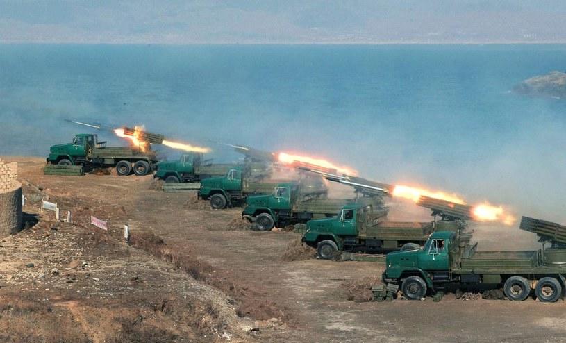 """Eksperci nie wierzą w """"morze ognia"""", którym miałby zostać """"zalany"""" Seul /AFP"""