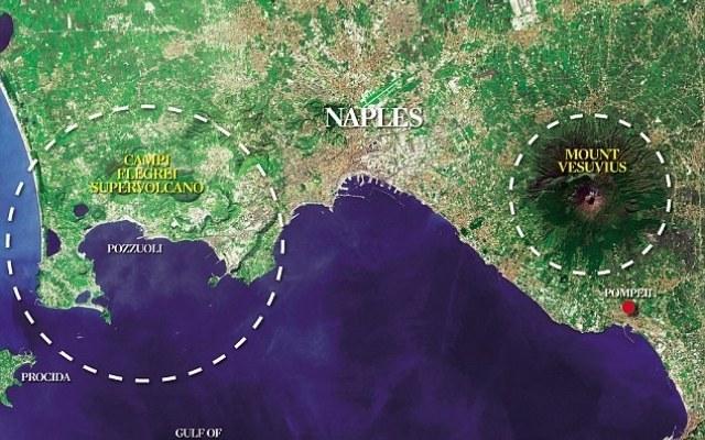 Eksperci z University College London oraz wulkanolodzy z Vesuvius Observatory, sądzą, że nadchodzi czas erupcji superwulkanu na Polach Flegrejskich /Zmianynaziemi.pl
