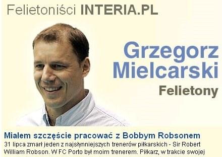 Ekspert Canal+ i felietonista INTERIA.PL - Grzegorz Mielcarski. /INTERIA.PL