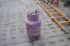 Eksplozja butli z gazem - zawaliła się część kamienicy