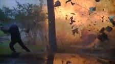 Eksplozja domu podczas akcji ratunkowej
