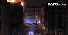 Eksplozja gazu w Katowicach. Runęły 3 kondygnacje kamienicy