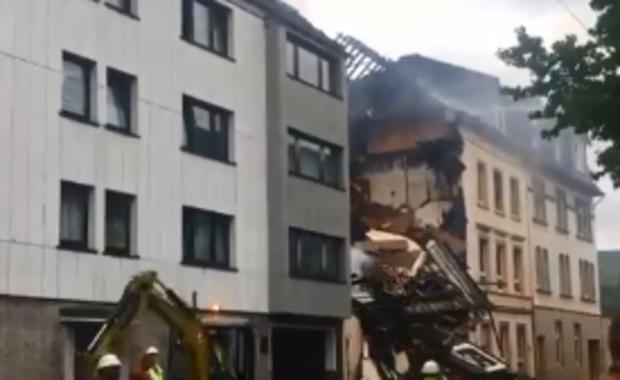 Eksplozja w Wuppertalu. 25 osób rannych