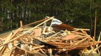 Eksplozja zmiotła dom z powierzchni ziemi