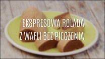 Ekspresowa rolada z wafli bez pieczenia