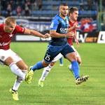 Ekstraklasa piłkarska - Wisła Kraków pokonała Piasta