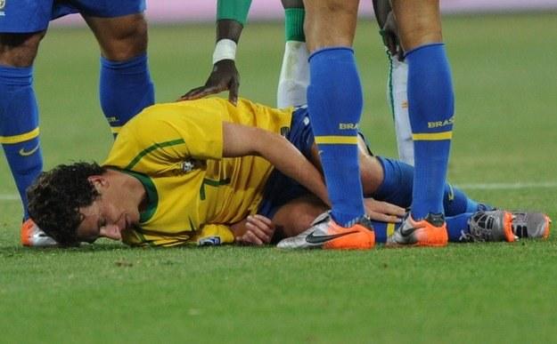 Elano nie zagra w ćwierćfinałowym meczu z Holandią /AFP