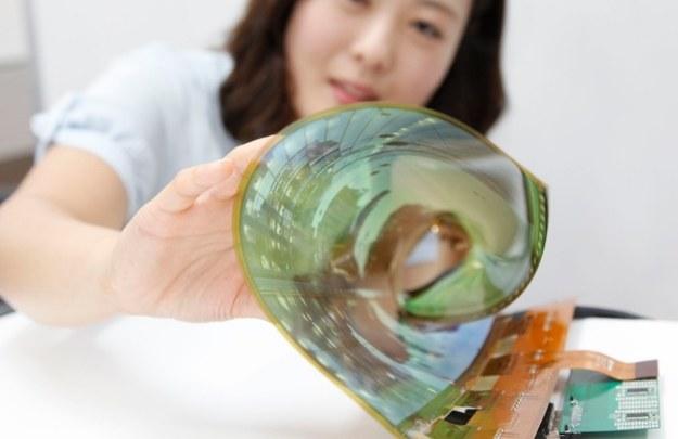 Elastyczny OLED LG /materiały prasowe
