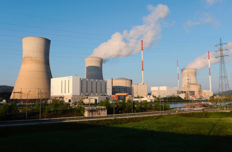 Elektrownia w Tihange /AFP