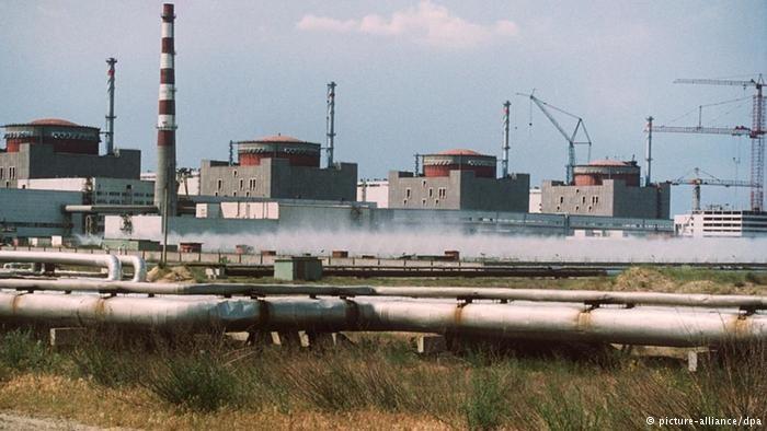 Elektrownia Zaporoże eksploatowana jest od 1984 roku /Deutsche Welle