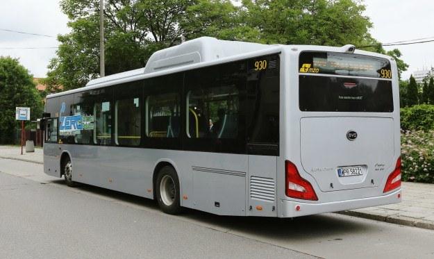 Elektryczny autobus BYD K9 /PAP