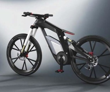 Elektryczny rower Audi kontrolowany smartfonem