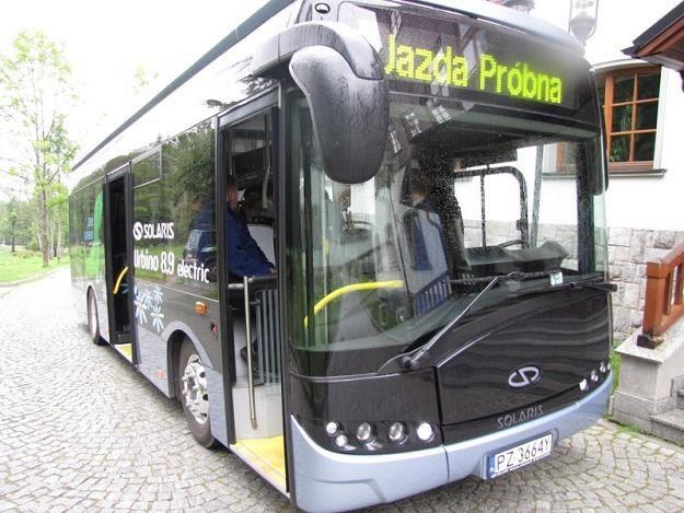 Elektryczny Solaris testowany przez Zakopane /RMF
