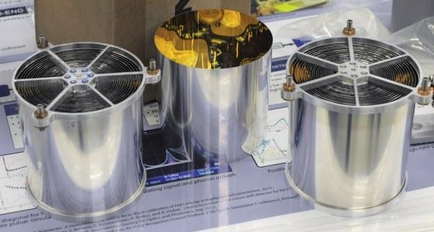 Element urządzenia do zbierania promieniowania X.  Fot. Pat Izzo /NASA