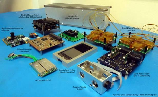 Elementy satelity STRaND-1 /materiały prasowe