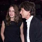 Elizabeth Jagger z ojcem /INTERIA.PL