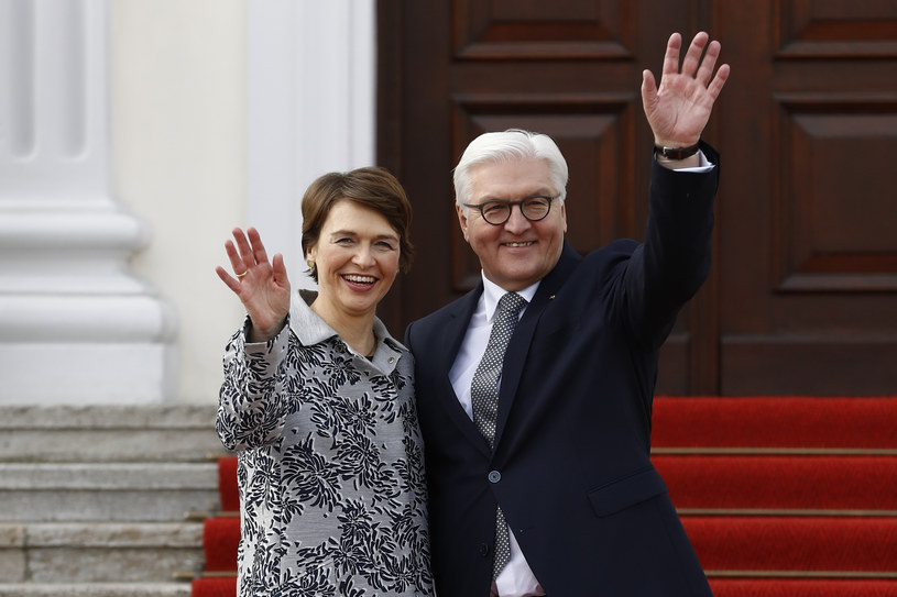 Elke Büdenbender i Frank-Walter Steinmeier /AFP