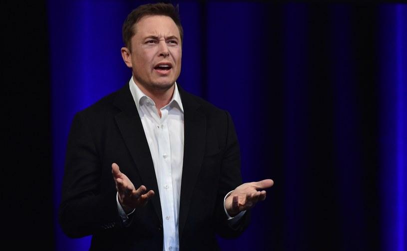 Elon Musk nawet nie wiedział, że jego firmy mają konta na Facebooku /AFP