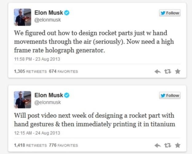 Elon Musk zbuduje holograficzny interfejs /materiały prasowe