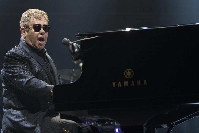 Elton John wystąpi 9 lipca 2017 r. w Sopocie, fot. Baden/ZUMA Press/Splash News /East News