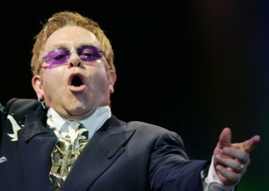 Elton John /arch. AFP