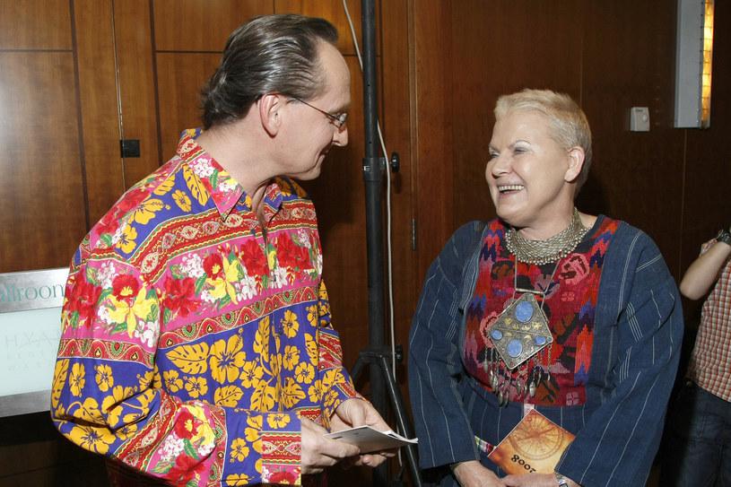 Elżbieta Dzikowska z Wojciechem Cejrowskim /AKPA