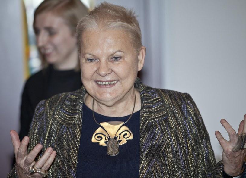 Elżbieta Dzikowska /Leszek Kotarba  /East News