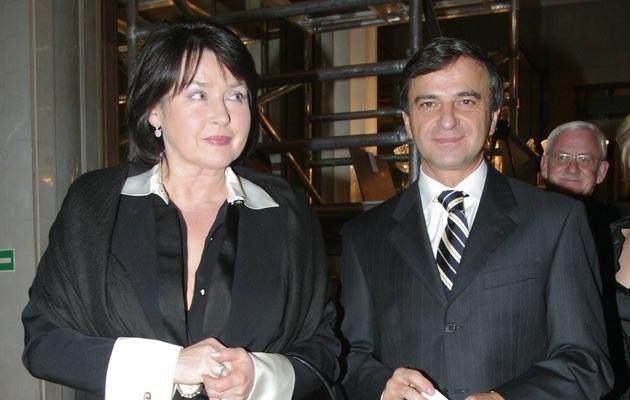 Elżbieta Jaworowicz i Eugeniusz Mleczak poznali się w 1995 roku, fot.Rafał Maciaga  /Agencja FORUM