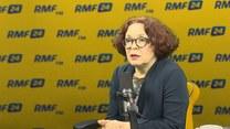 Elżbieta Kruk w Porannej rozmowie w RMF FM