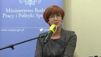 Elżbieta Rafalska: Ci, którzy krytykują projekt 500+, szukają dziury w całym