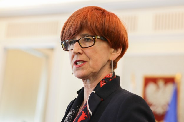 Elżbieta Rafalska, fot. Aleksandra Szmigiel /Reporter