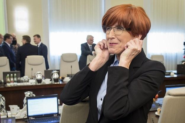 Elżbieta Rafalska /fot. Jacek Domiński /Reporter