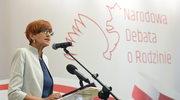 Elżbieta Rafalska: Musimy skoncentrować uwagę na chronieniu małżeństwa