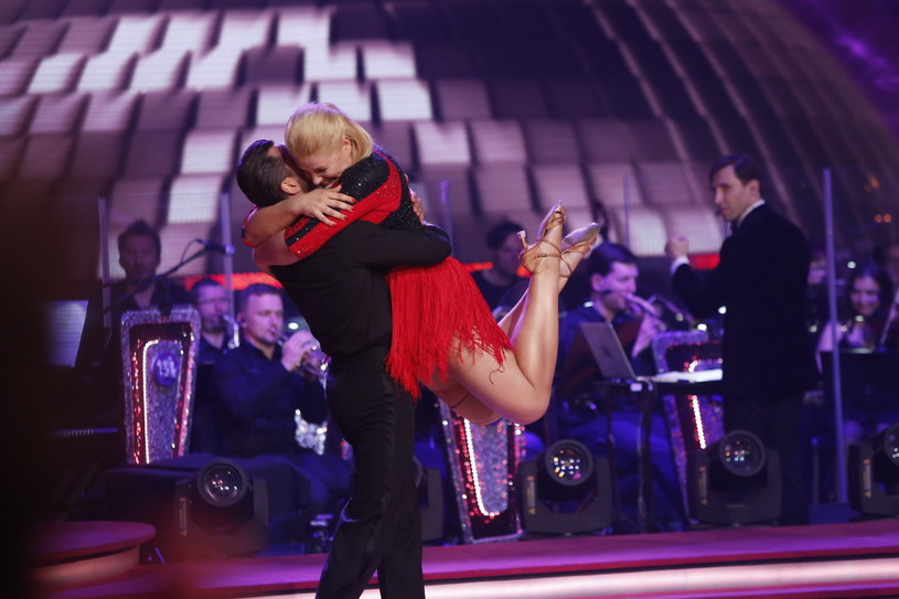 Elżbieta Romanowska właśnie dowiedziała się, że awansowała do finału /AKPA