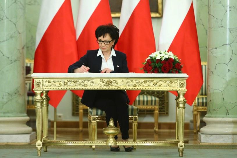 Elżbieta Witek /STANISLAW KOWALCZUK /East News