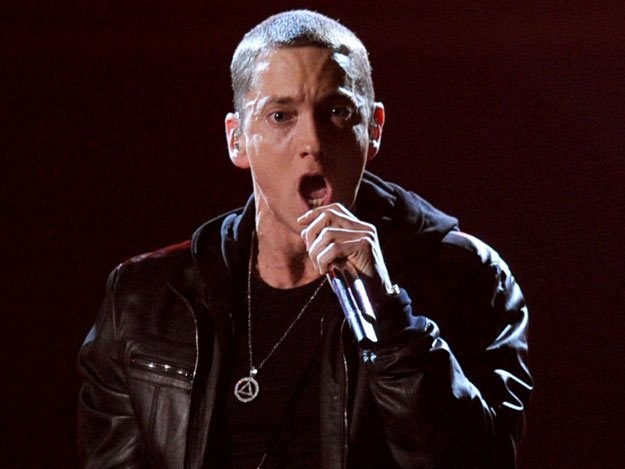 Eminem promuje Detroit i Chryslera fot. Kevin Winter /Getty Images/Flash Press Media