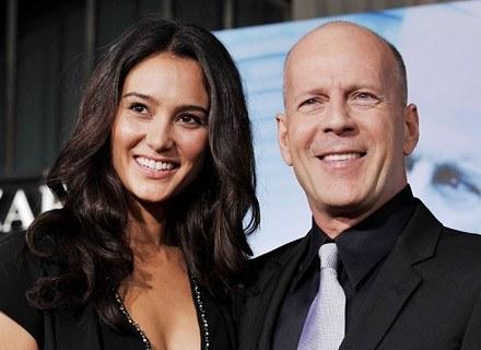 Emma Heming i Bruce Willis /Getty Images/Flash Press Media