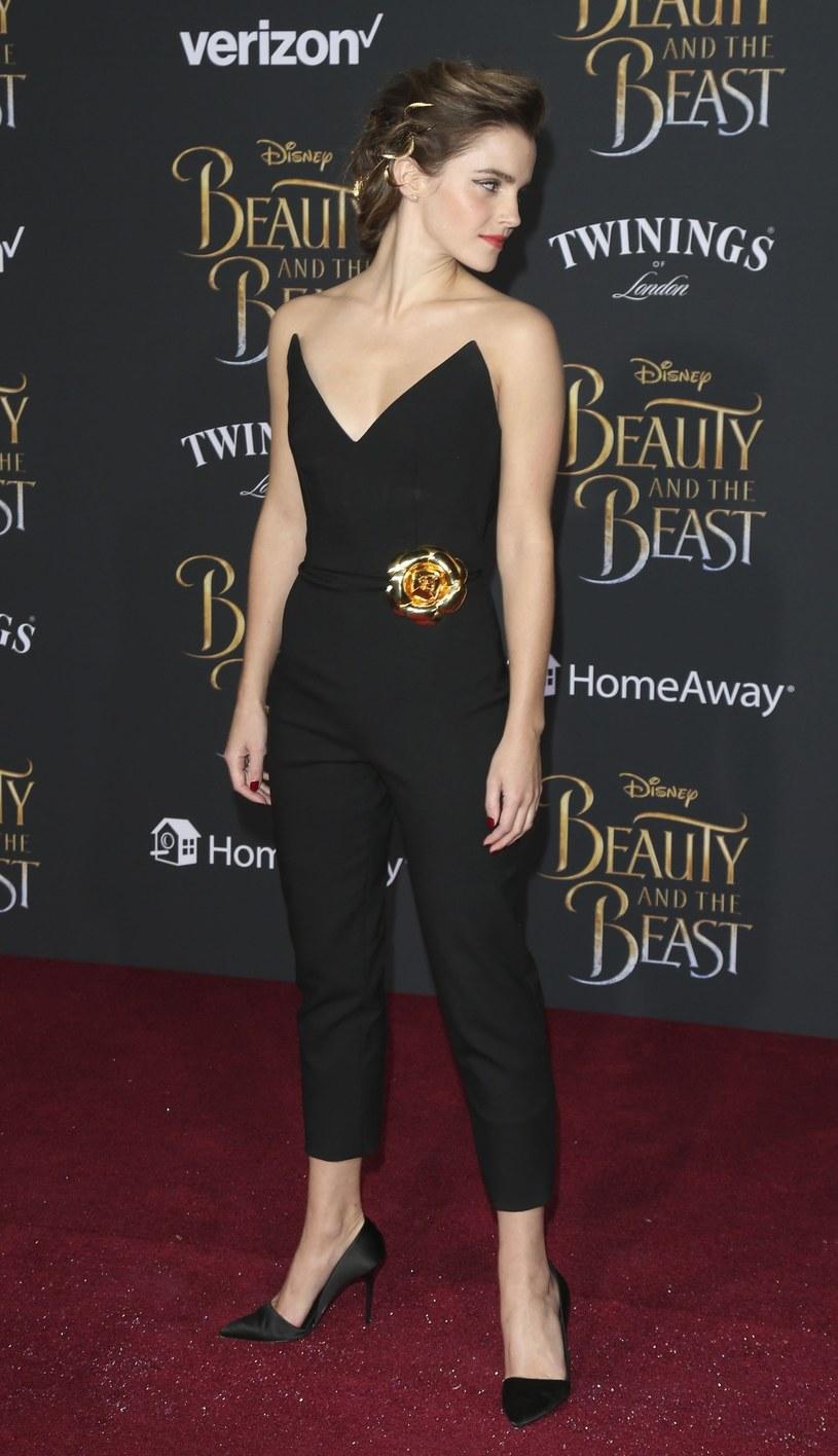 Emma Watson zachwyciła w odważnym kombinezonie /East News