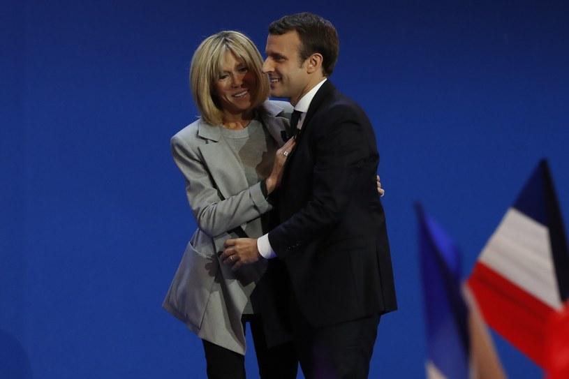 Emmanuel Macron chciał mieć żonę, która także jest partnerką/Szwarc Henri/ABACA /East News