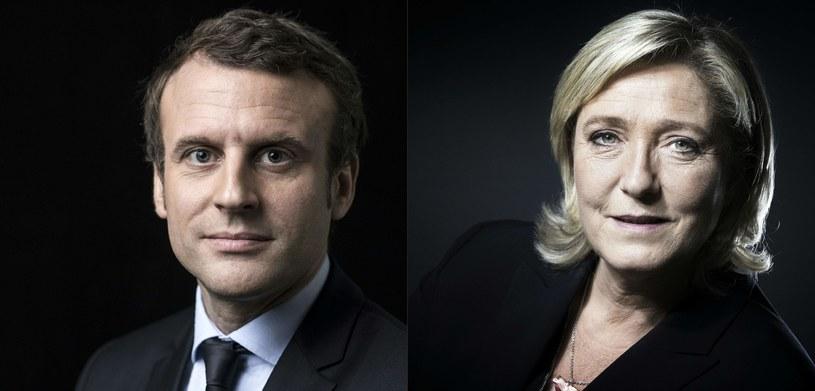 Emmanuel Macron i Marine Le Pen /AFP