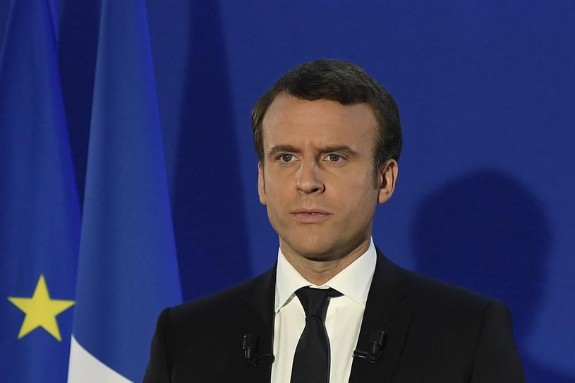 Emmanuel Macron /AFP