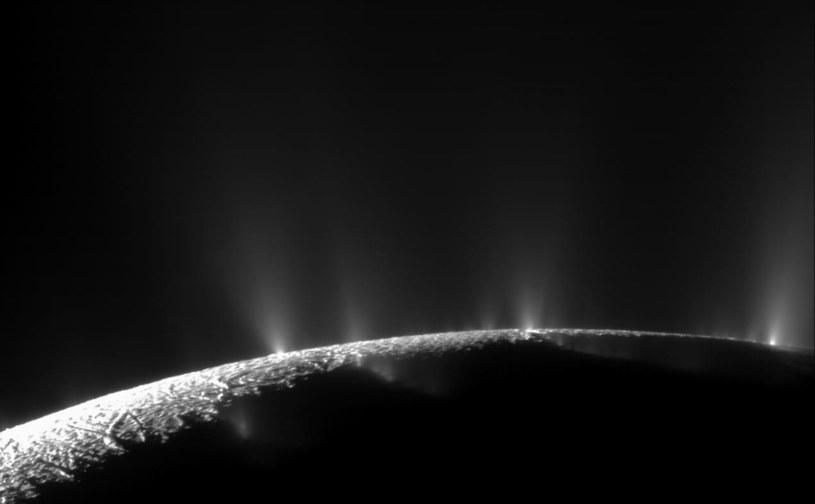 Enceladus.  Fot. NASA/JPL/Space Science Institute /NASA