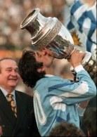 Enzo Francescoli - gwiazda River Plate trzykrotnie z Urugwajem triumfował w Copa America /AFP