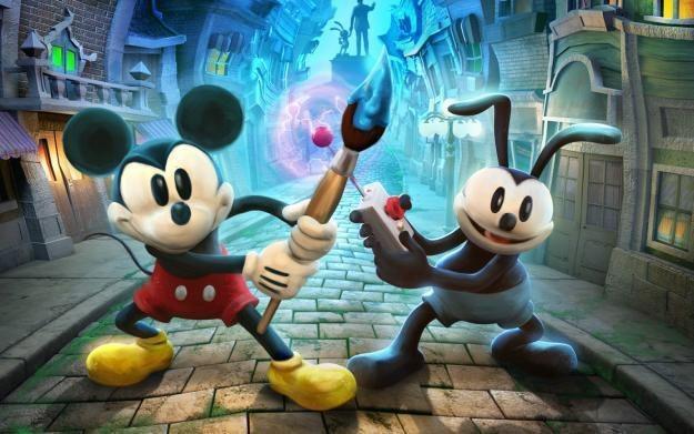 Epic Mickey 2: Siła Dwóch - motyw graficzny /