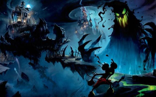 Epic Mickey - motyw graficzny /Informacja prasowa